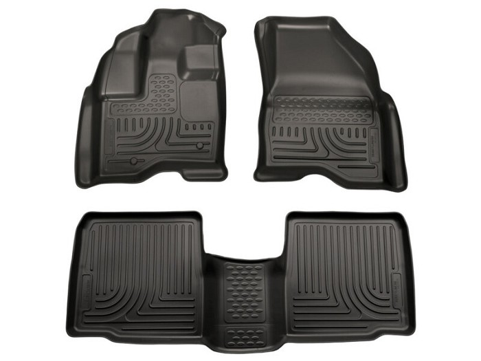 2011 2014 Ford Explorer Husky Weatherbeater Front Rear Floor