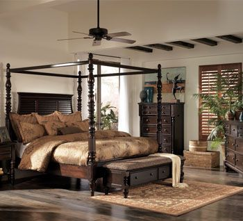 Key Town Bombe Bed By Ashley Furniture The Posts Are Adjustable Just Like My Moods We Fit