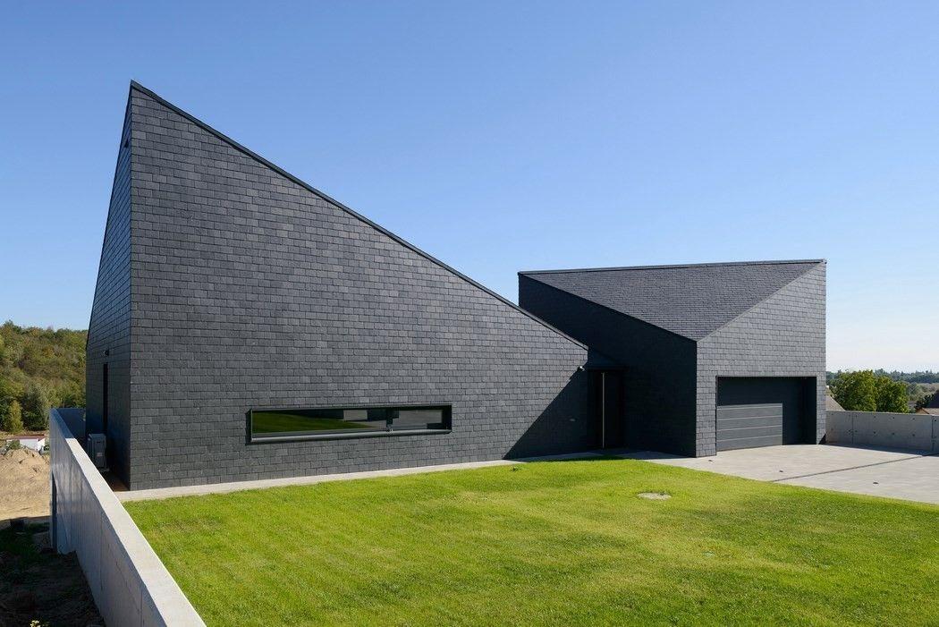 Maison contemporaine en Pologne par le studio RS+ Architecture
