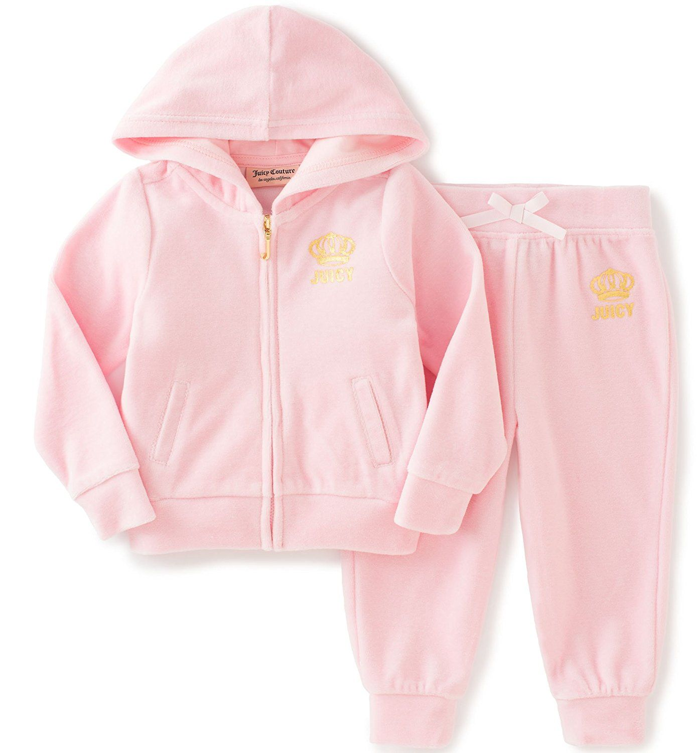 Buy Juicy Couture Infant Girls Velour