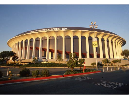 Great Western Forum Inglewood La Former Home Of The Showtime L A Lakers Inglewood Los Angeles Kings Inglewood California