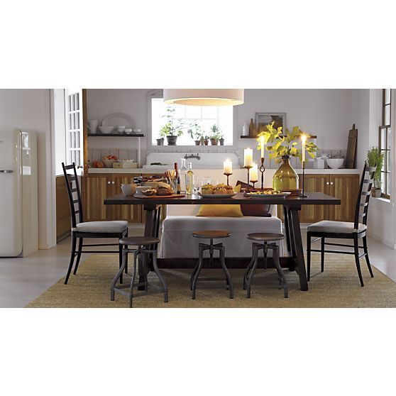Taverna 78 Quot Dining Table In Dining Tables Crate And