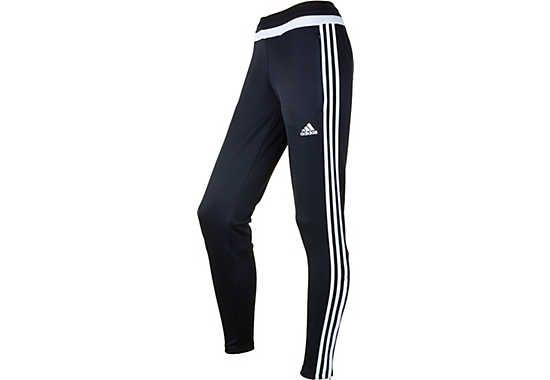 497720986 adidas Women's Tiro 15 Training Pant - Black and White   Women's ...