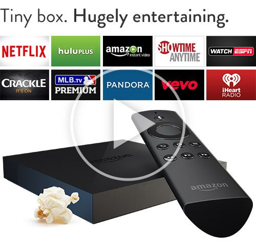 Amazon Fire TVStreaming 1080p media player with voice
