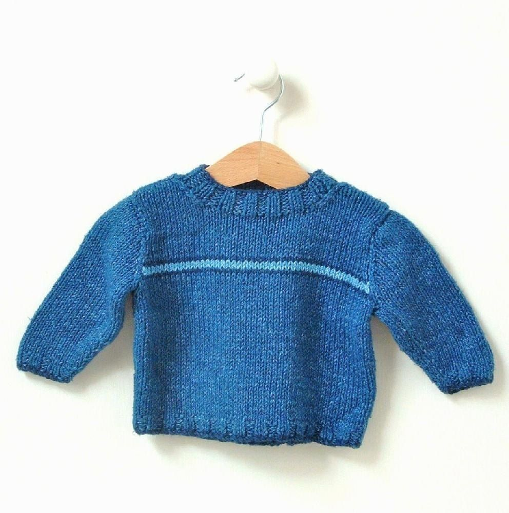 f9dab3fc2 Items similar to BABY KNITTING PATTERNS baby boy 0-4m 4-8m 8-12m 1-2yrs  2-3yrs  multi stripe v  on Etsy