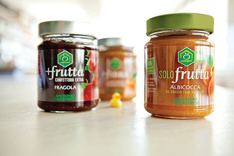 Tris di marmellate di Apicoltura casentinese #packaging #design #food