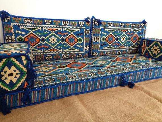 Terrific Floor Couch Arabic Style Majlis Floor Sofa Set Oriental Machost Co Dining Chair Design Ideas Machostcouk