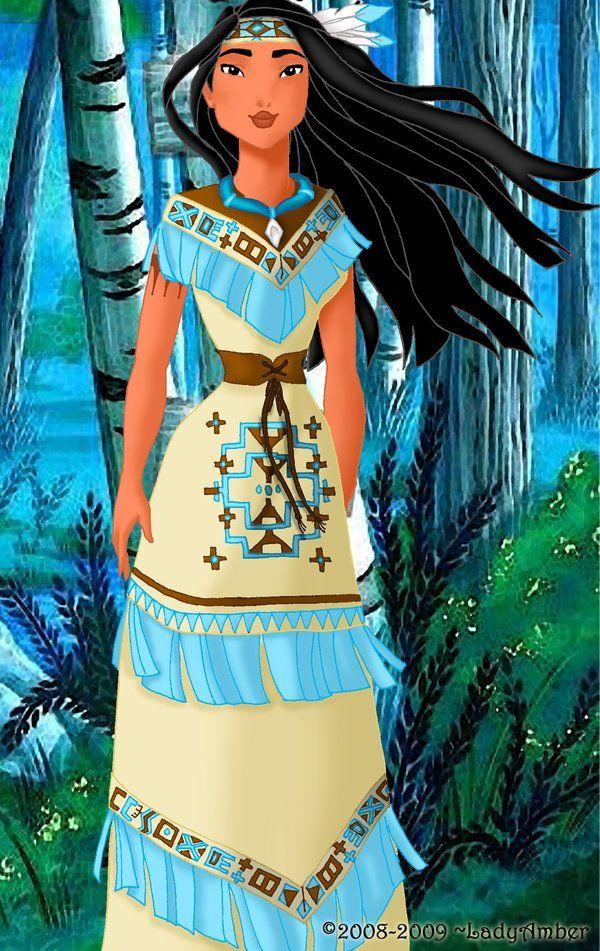 fb6480ddf94 Pocahontas deluxe gown by LadyAmber.deviantart.com on @deviantART ...