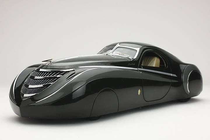 1939 Duesenberg Coupe Simone Midnight Ghost Classic Cars