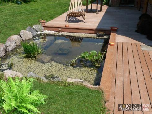 terrasse ipe avec bassin Bassin Pinterest - terrasse bois avec bassin