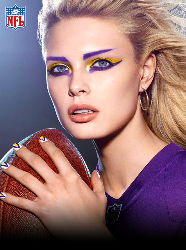 Minnesota Vikings In 2019 Viking Makeup Viking Face Paint