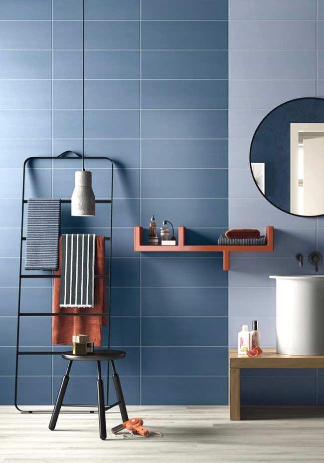 Banheiro contemporâneo com revestimento fosco | architect ...