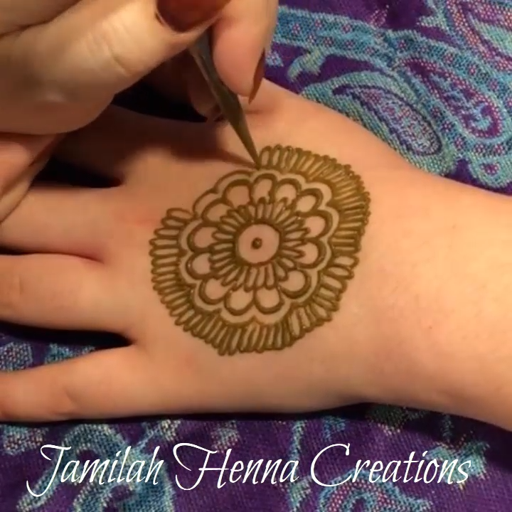 Easy Henna Mandala