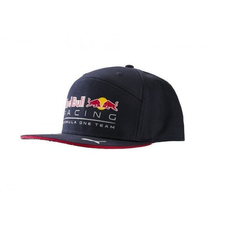 be8d3e2bdfb Red Bull Formula 1 Racing 2017 Daniel Ricciardo Flatbrim Team Hat ...