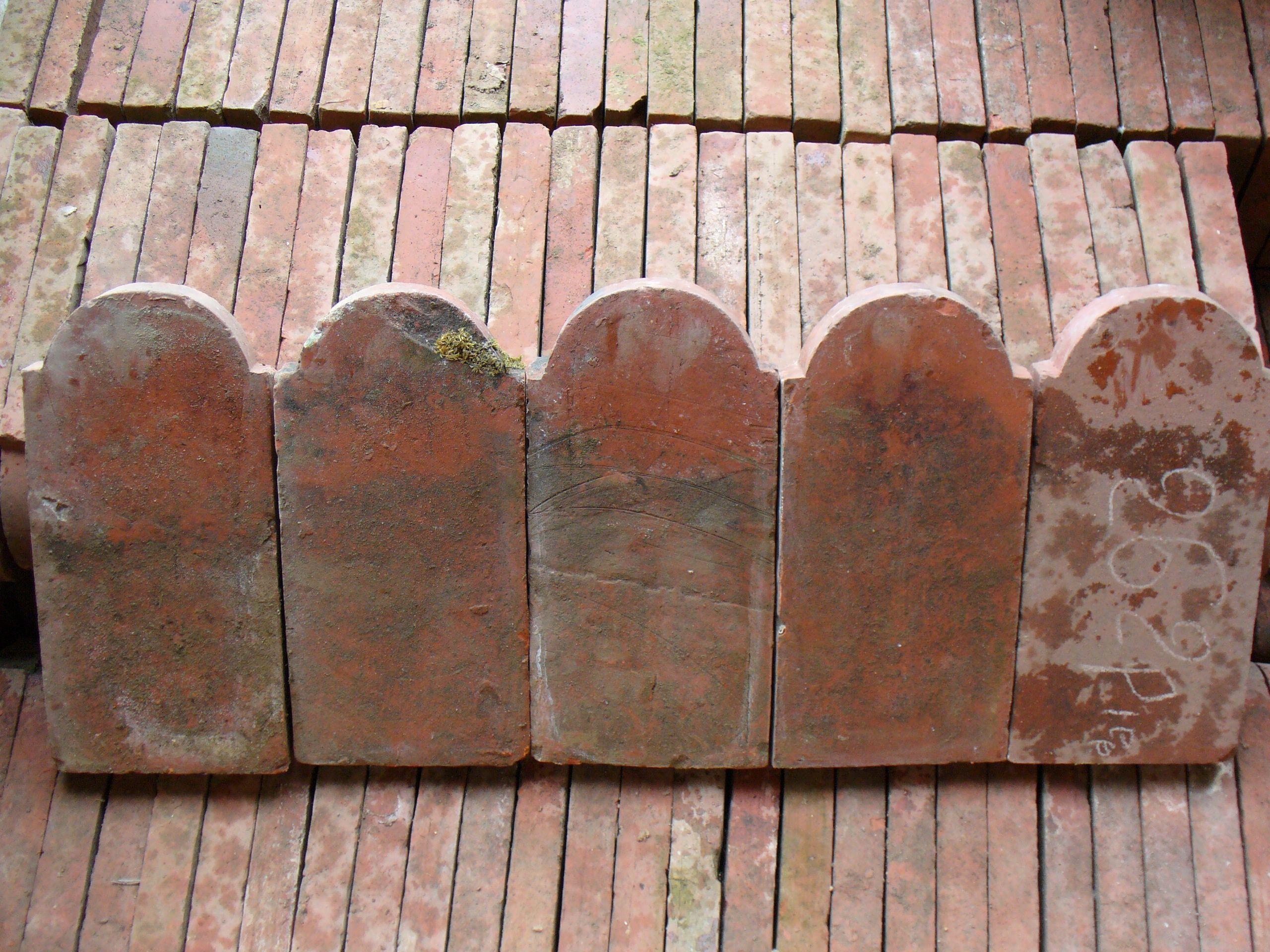 Ancienne bordure de jardin en terre cuite ancienne - 45 ml prêts à ...