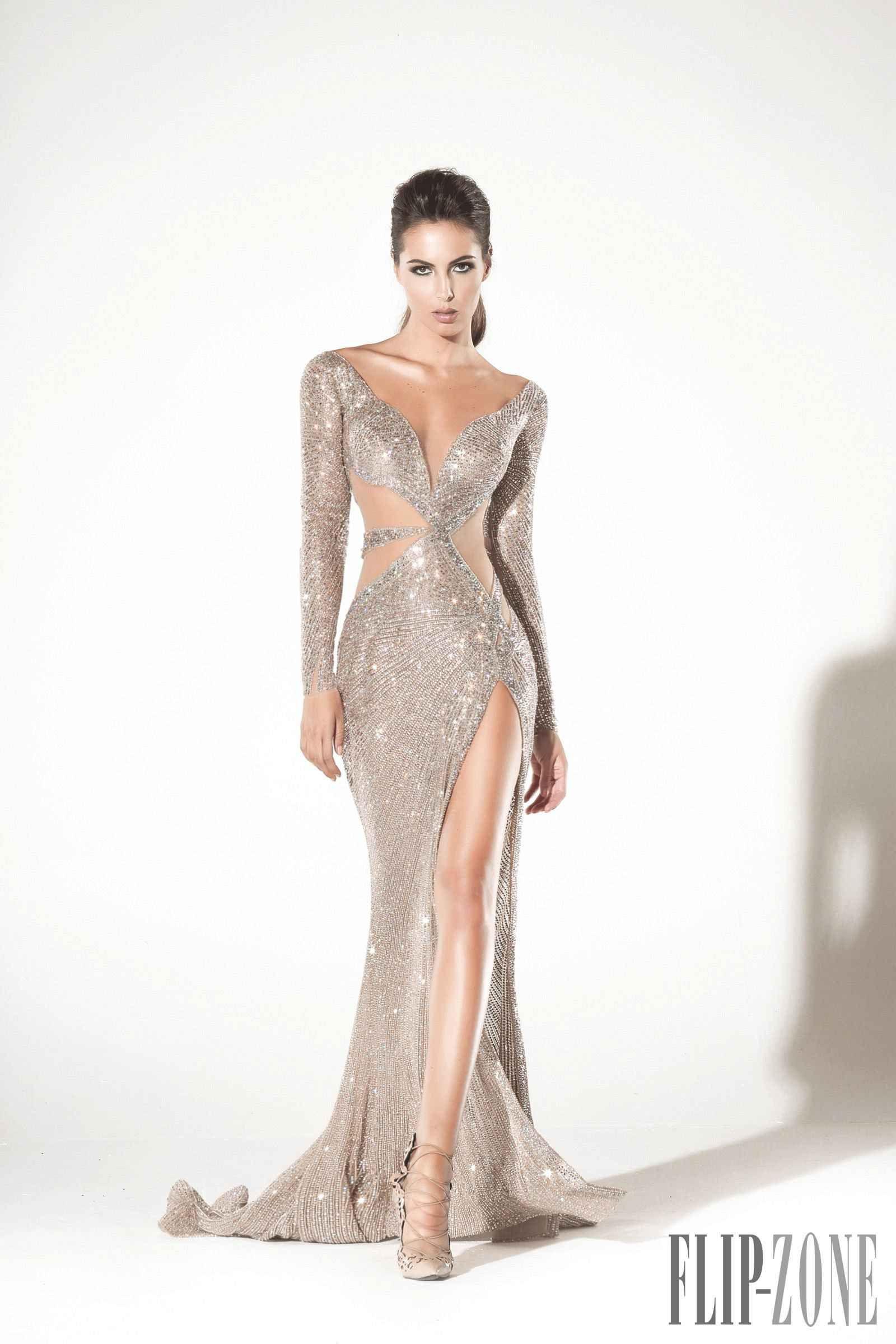 949b012103d Charbel Zoé Printemps-été 2016 - Haute couture Robes Élégantes