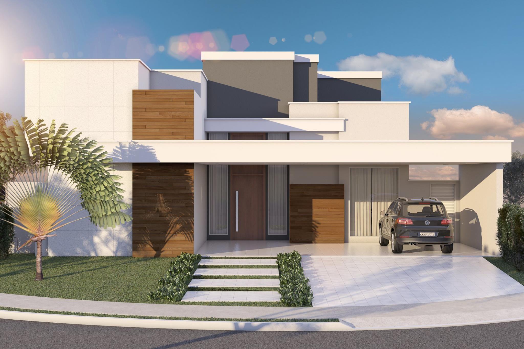 Fachada residencial diurna arquitectura pinterest for Fachadas apartamentos modernos