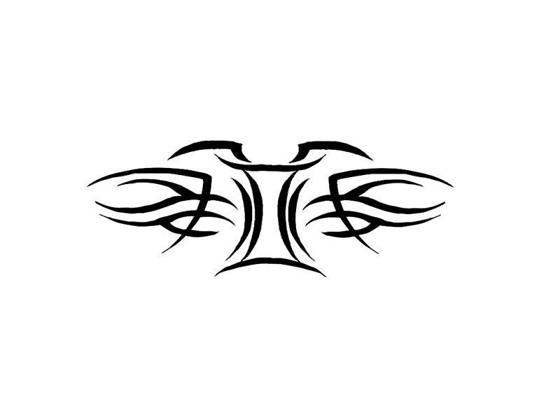 free designs - gemini zodiac tribal tattoo wallpaper | tattoos