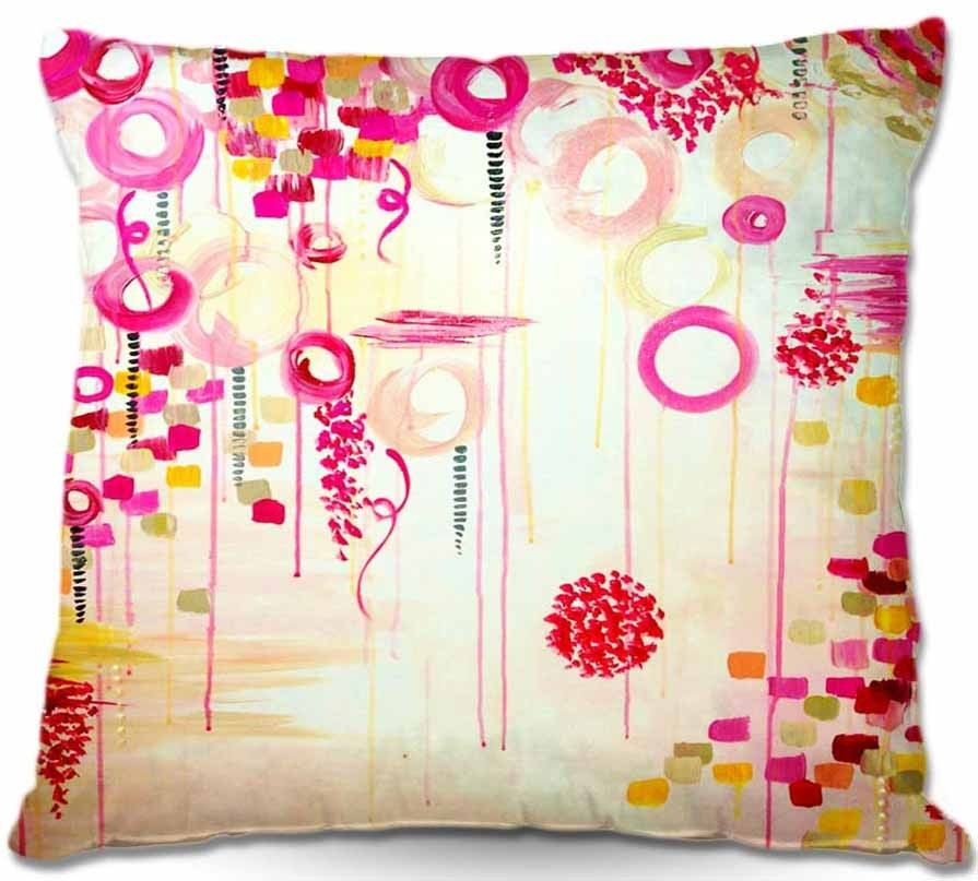 Pillow - Dress up your couch, add extra love to your bed, or finish off that window seat. Our throw pillows will add the perfect punch of style and color you have been wishing for. Choose from hundreds of unique images, stylish patterns, or whimsical throw pillows for your lil' ones' room décor. Or, you can use one of your own images or photos. Woven Soft, woven, heavy weight fabric will add a posh look to your home. Poly Poplin Smooth, Poly Poplin pillow adds the perfect finishing touch…