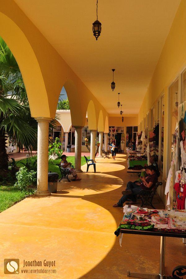 marche artisanat valladolid yucatan mexique