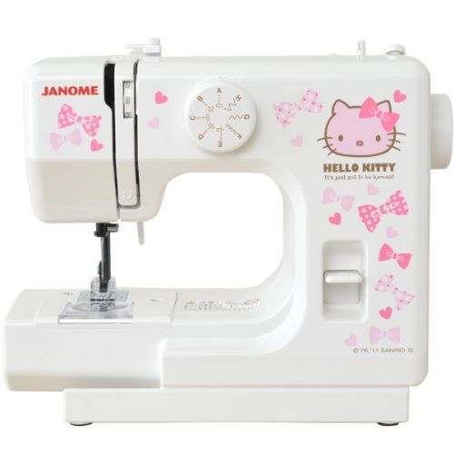 Hellokittysewingmachine Janome [Hello Kitty] Compact White Sewing Best Janome Hello Kitty Sewing Machine Instruction Manual