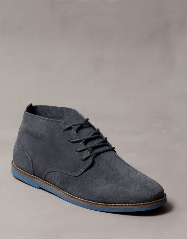HIDE URBAN ANKLE BOOTS - MEN'S SHOES - Pull and Bear