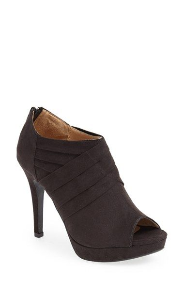 LOVE! 1 or 3 shoes for the fall.  REPORT 'Lorella' Peep Toe Bootie (Women) | Nordstrom