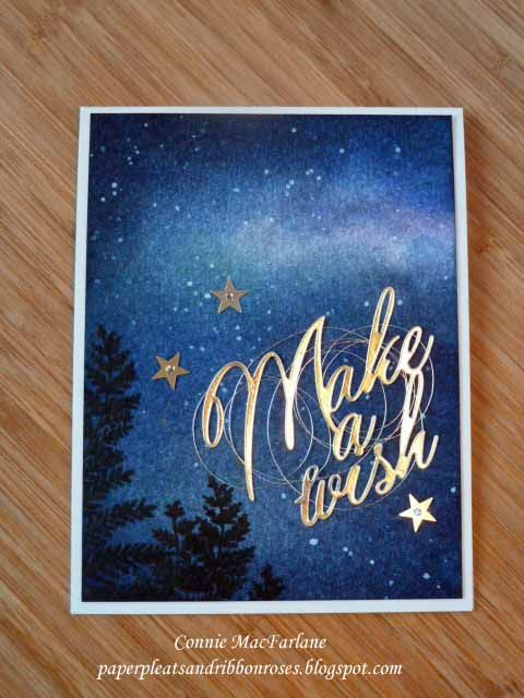 Saf 2016 Starry Night Beautiful Christmas Cards Star Cards