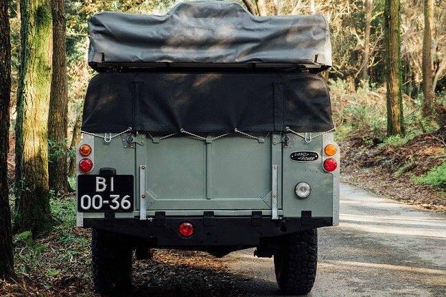 Serie 1982 Land Rover 3 + 5 remolque para acampar
