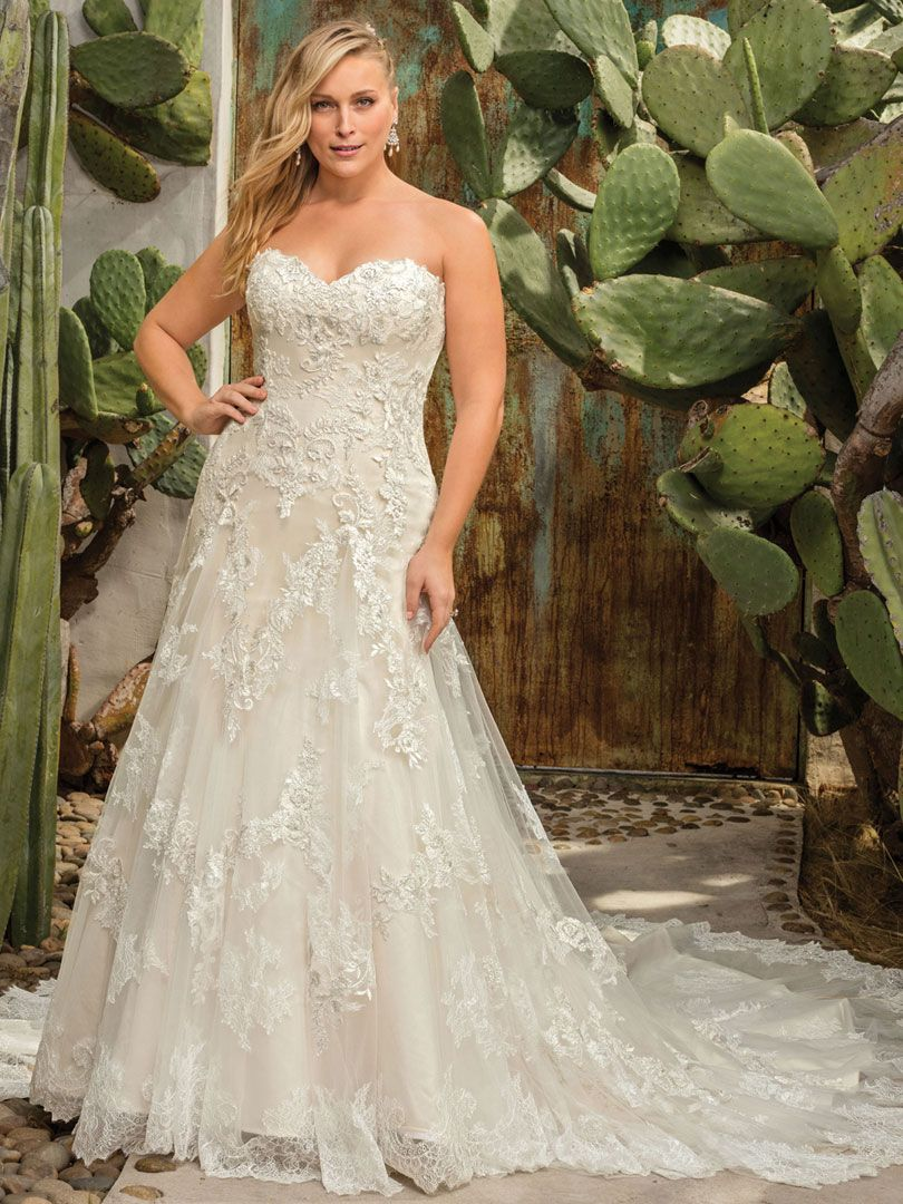 efb233d32e ... top wedding gown designers. Casablanca Bridal Style 2291C Everly  Classic Fit