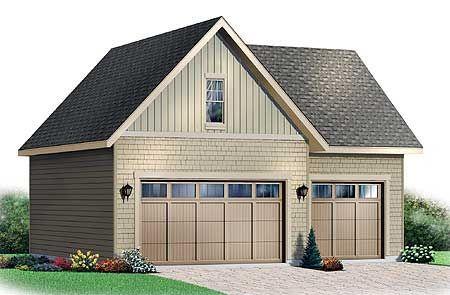 Plan 21202DR Garage with Storage Free Materials List – Free Garage Plans With Material List
