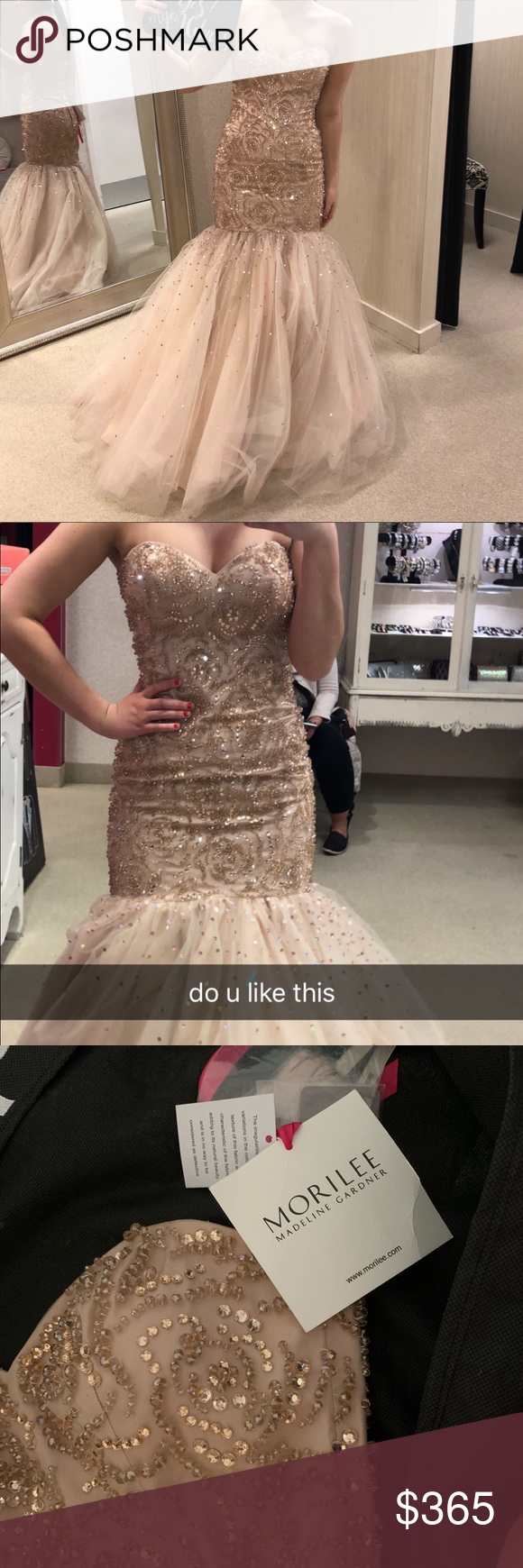 Mori Lee Prom Dress W Jewelry Mori Lee Prom Dresses Dresses Prom Dresses [ 1740 x 580 Pixel ]