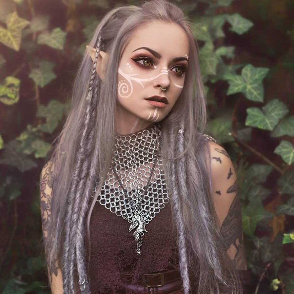 Pin By Donna Collins On Faerie Elven Attire In 2018 Pinterest - Maquillaje-elfo