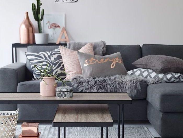 ▷ 1001 + idées comment décorer la chambre rose et blanc chic #wanddekowohnzimmer