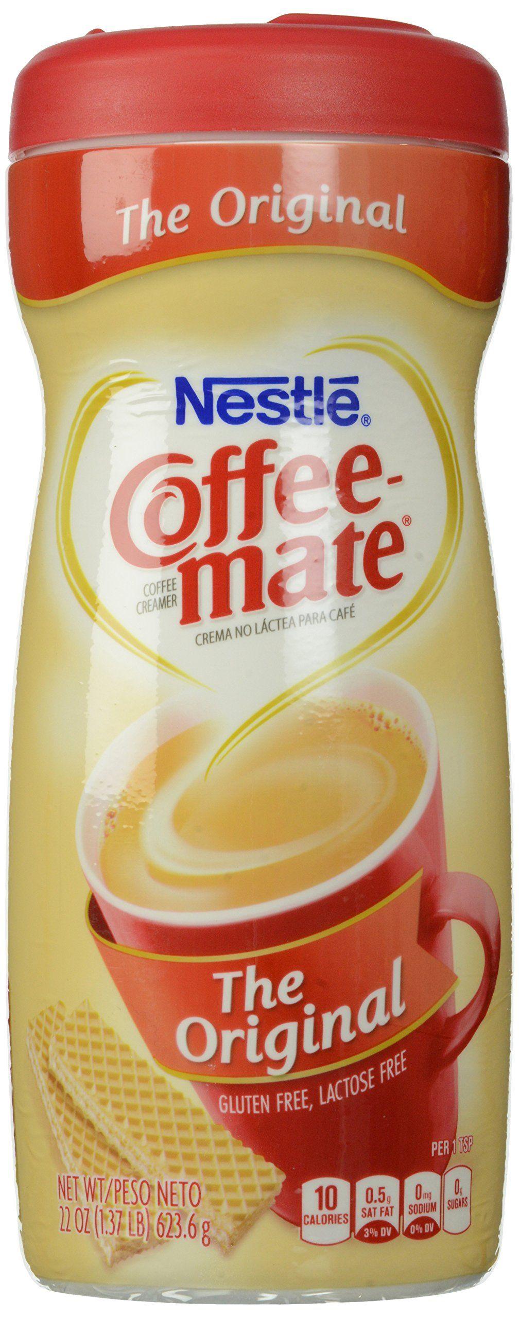 Coffeemate coffee creamer powder original 22 ounce see