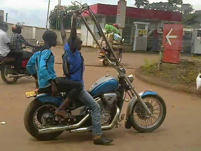 Super Moto WTF à l'africaine | drole | Pinterest | Moto, Insolite et Drôle OJ65