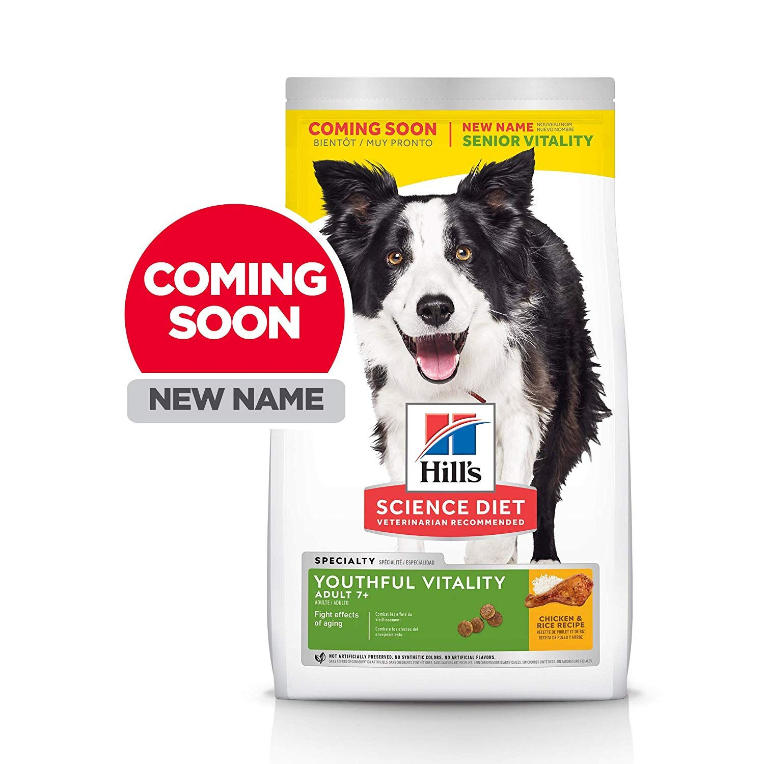 Hill S Science Diet Dog Food Adult 7 For Senior Dogs Youthful
