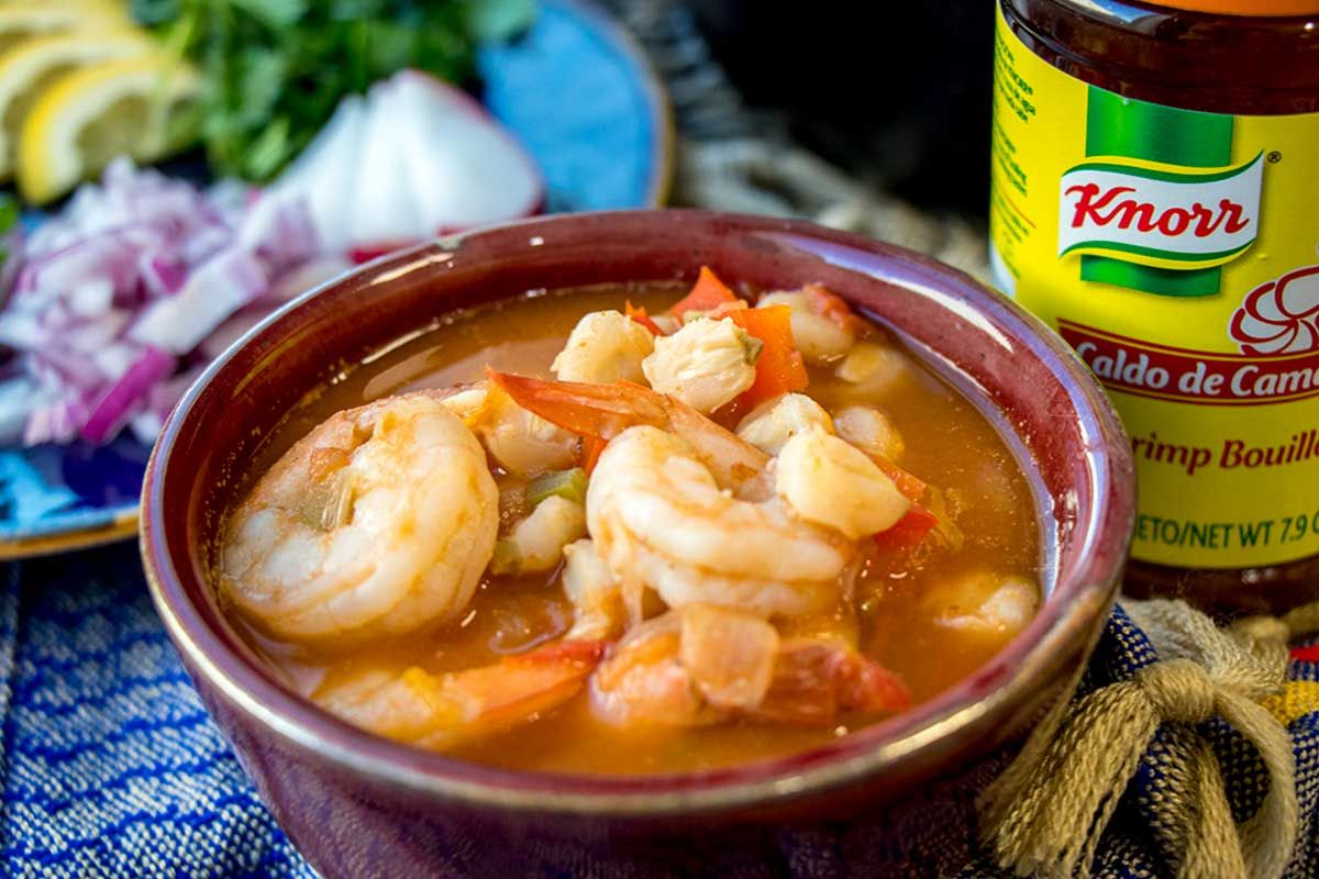 Easy Shrimp Pozole | Recipe | Pozole recipe, Lent recipes ...