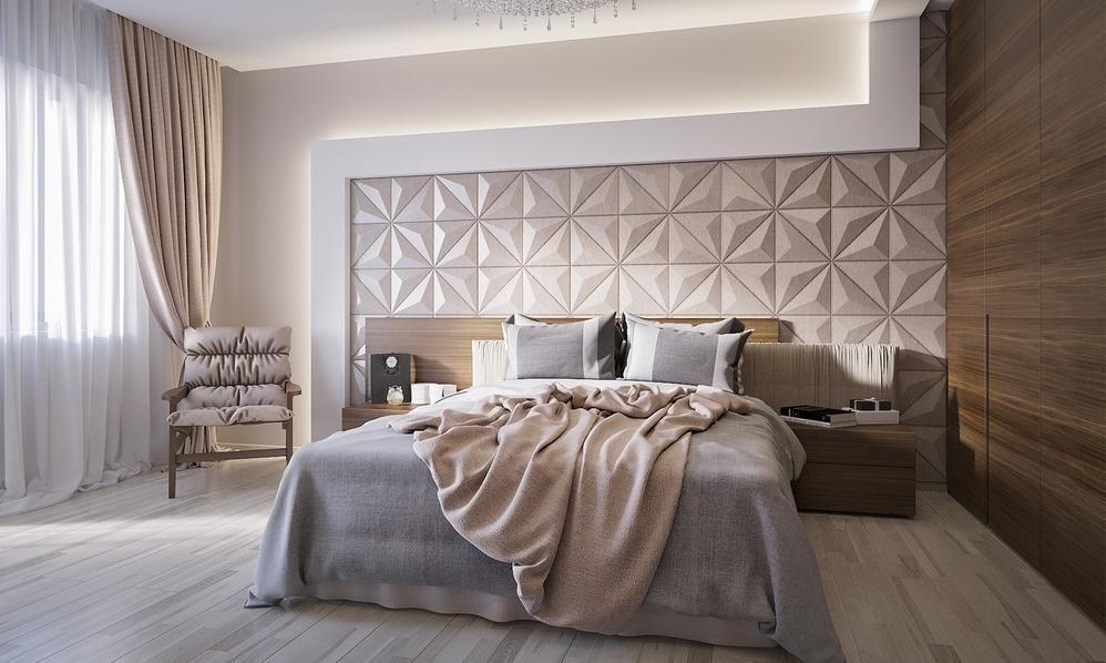 أفكار ديكور تحول غرفة النوم إلى جناح فندقي | Modern ...