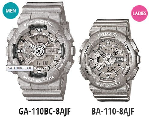 c63bf39a0e03 G-Shock and Baby-G s Newest Pair Model Watches