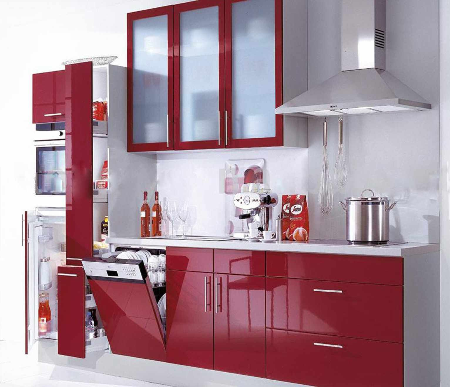 Pin By سنسن On تنسيق Glass Kitchen Cabinet Doors Modern White Kitchen Cabinets Kitchen Cabinets