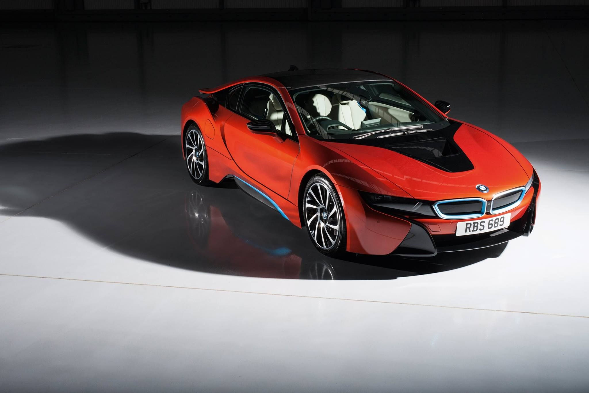 Bmw I8 Coupe Edrive Red Devil Fire Rainbow Electric Burn