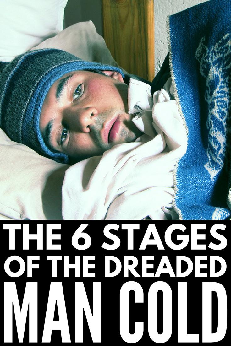 Man Cold Meme : Stages, Cold,, Humor,