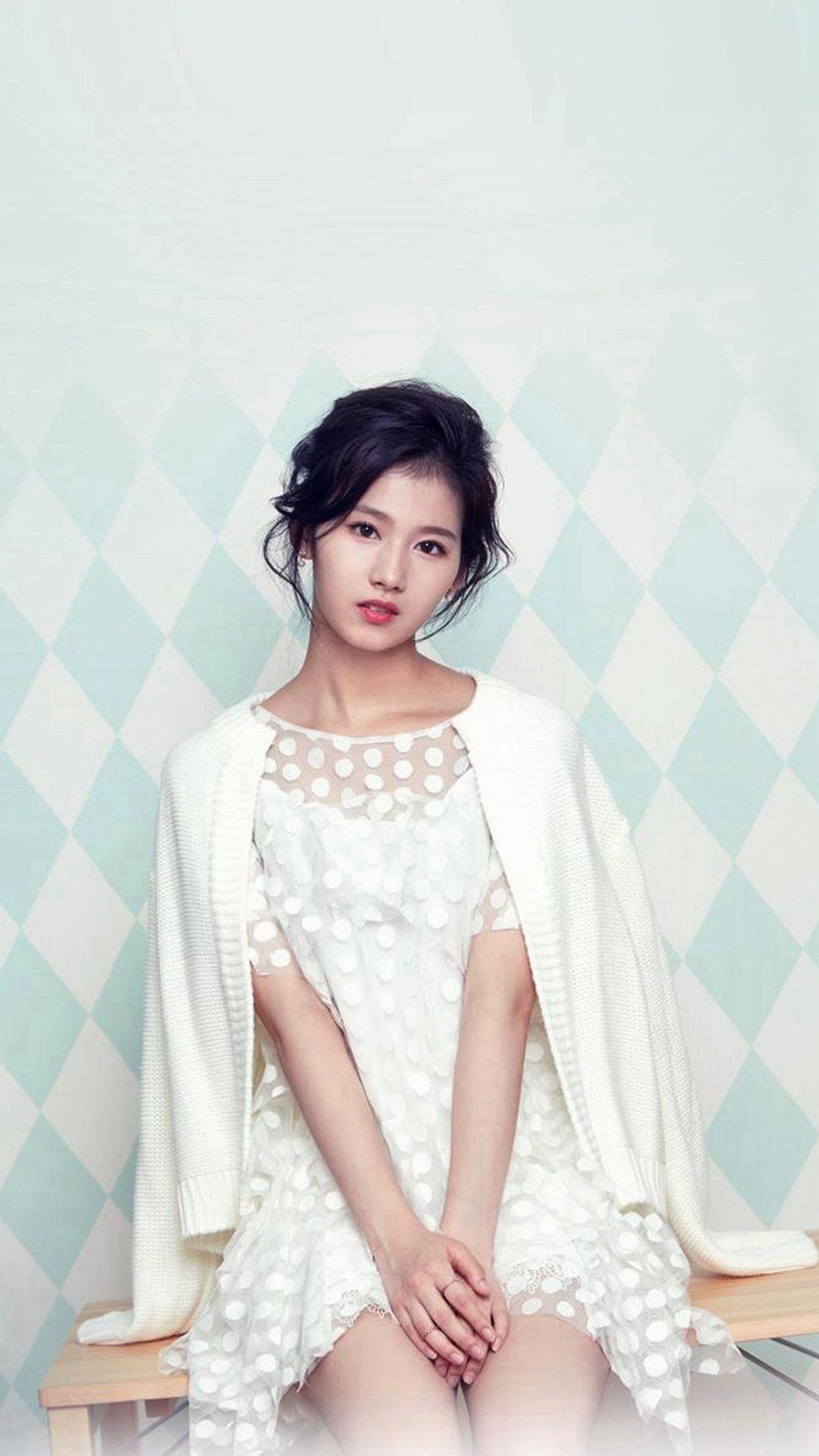 Sana Girl Kpop Twice Iphone 8 Wallpapers Kpop Girls Girl Twice