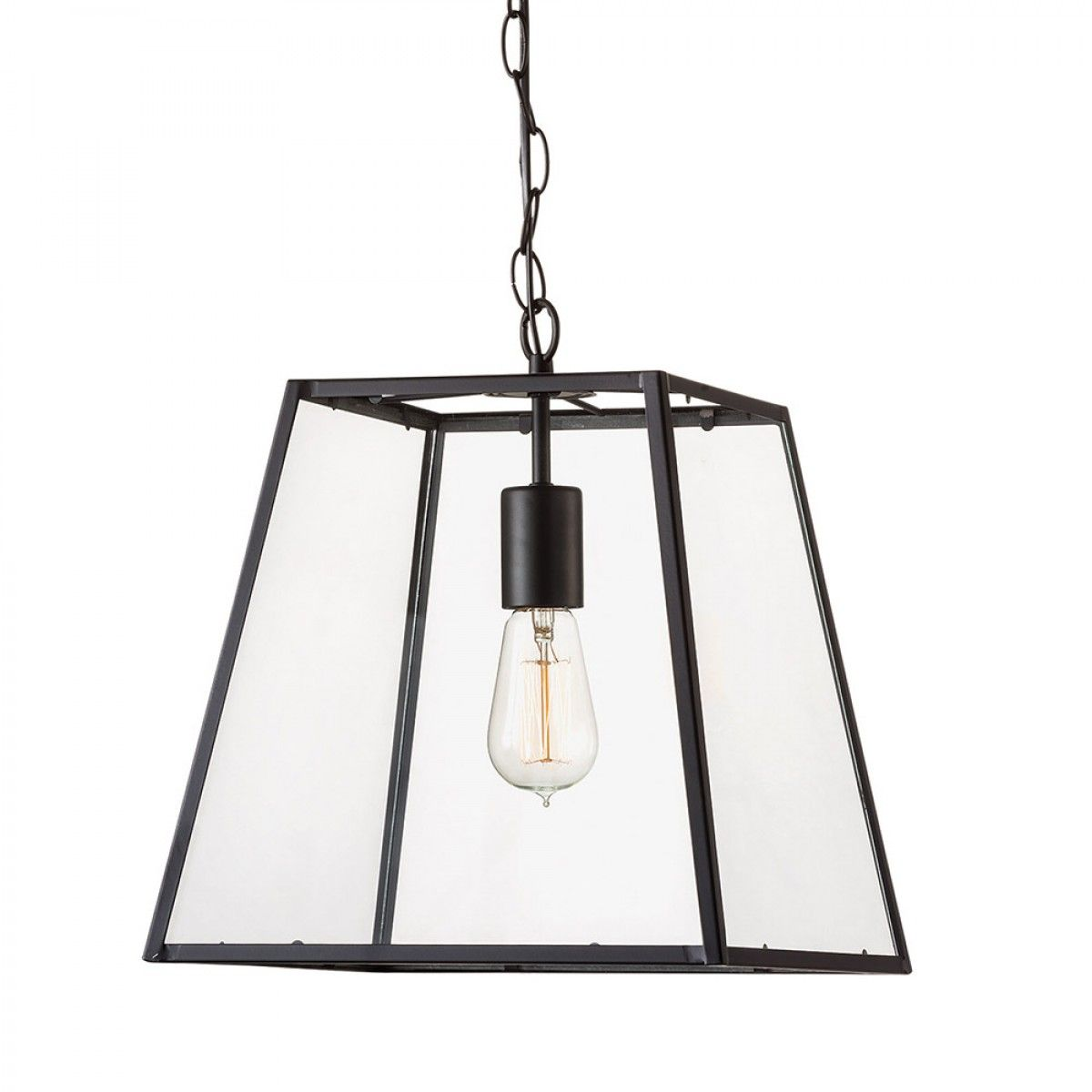 Glass Cube Pendant - Pendant Lights - Lighting & Fans ...