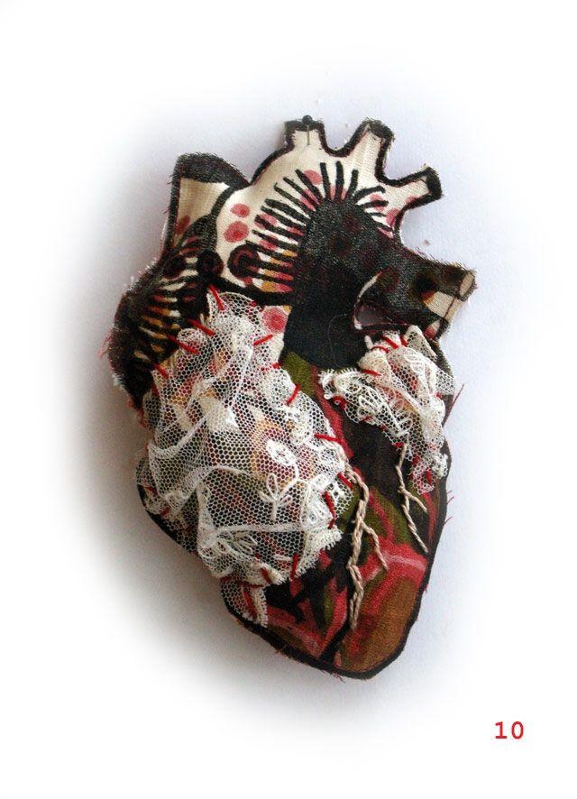Sandra Baud - coeur n°10 | Art: Mixed Media | Pinterest | Corazón ...