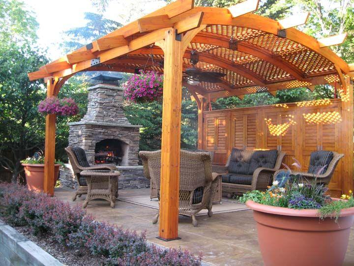 diy outdoor wood burning fireplace | outdoor fireplace ...