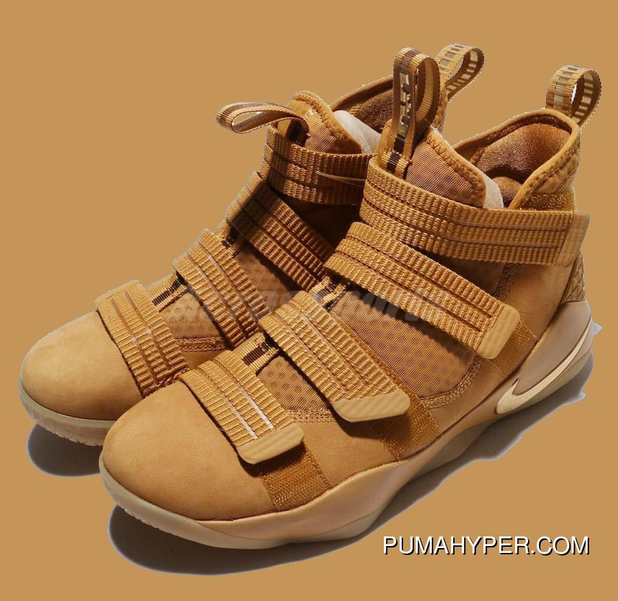 8824a8f2c67f6 2017 Nike Lebron Soldier 11 SFG EP Wheat Gold Metallic Gold Top Deals