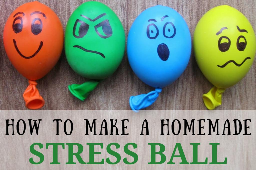 How To Make A Homemade Stress Ball, Simple DIY