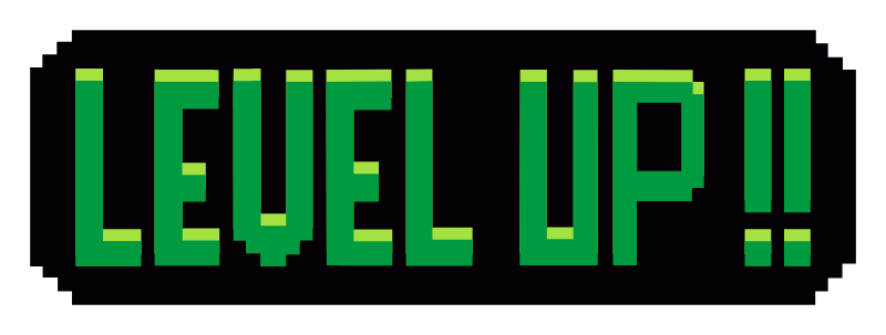 Pixel Level Up Pixel Level Up Stickers